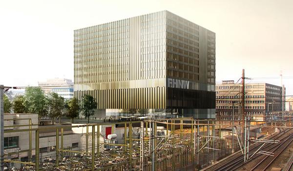 Neubau FHNW Polyfeld Muttenz